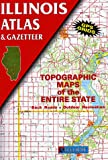 Illinois Atlas and Gazetteer (0899332137) by Delorme