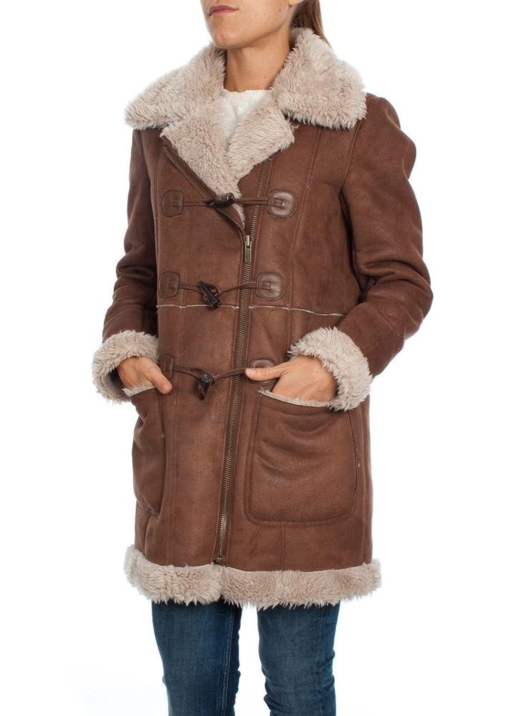 Pepe Jeans London Parka Jacke Cosima Brown Damen Winterjacke S - L