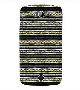 EPICCASE zebra lines Mobile Back Case Cover For Acer Liquid Z530 (Designer Case)
