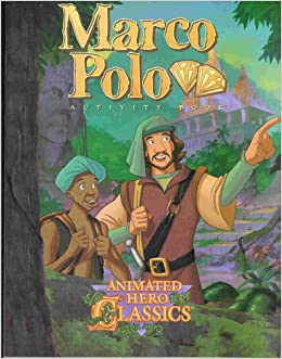 marco polo student activity book animated hero classics. Black Bedroom Furniture Sets. Home Design Ideas