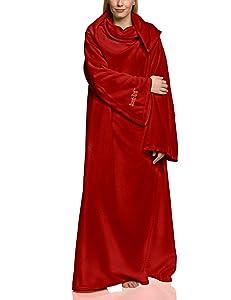 Vevendo Snug Rug Lite - Batamanta (talla de adulto), color rojo oscuro   Comentarios de clientes y más información