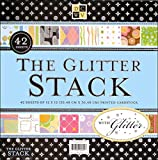 Diecuts with a View All-Occasion 12-by-12-Inch Glitter Scrapbook Paper