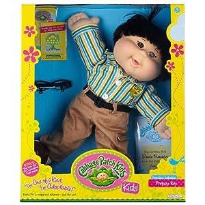 Cabbage Patch Kids Doll - Preppy Boy - Black Hair - Asian