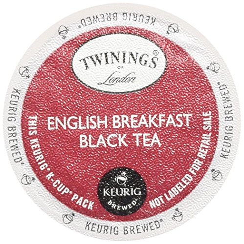 Twinings English Breakfast Tea Keurig K-Cups, 48 Count (Keurig K Cup Teas White compare prices)