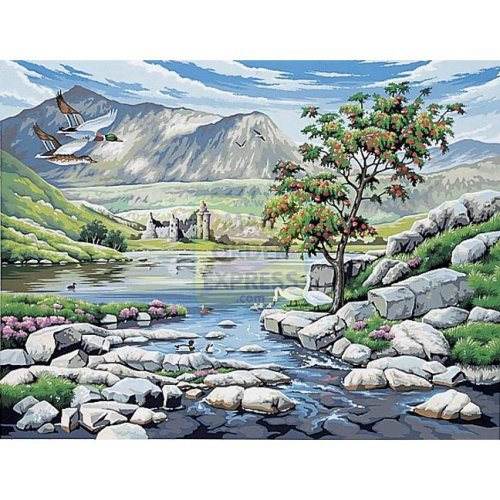 Reeves - Paint By Numbers Large Scottish Glen