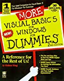 More Visual Basic 5 for Windows for Dummies (For Dummies (Computer/Tech)) (076450133X) by Wang, Wally