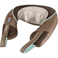 HoMedics Shiatsu Neck and Shoulder Massager with Heat (Brown)