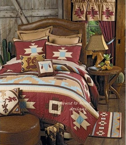 Western Bedding Quilts front-343414