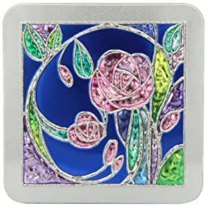 Churchill's Rose Garden Tin with Belgian Chocolate Biscuits 200 g
