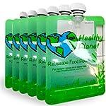 Eco friendly refillable reusable food...