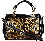Louise & Harris Handbag (Yellow & Black)