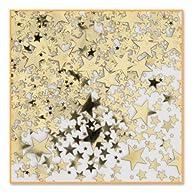 Beistle CN071 Gold Stars Confetti, 1/…
