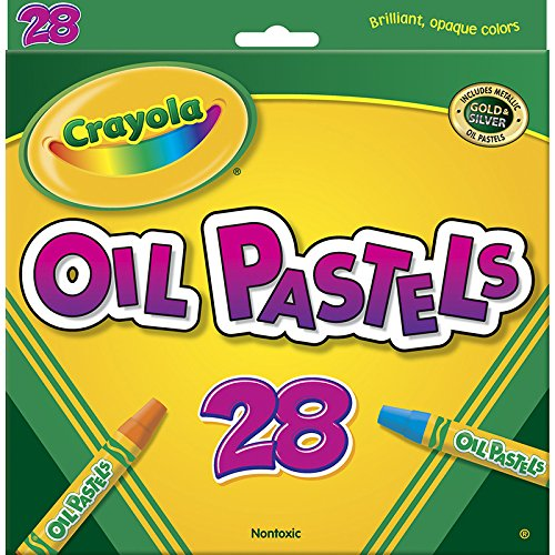 CRAYOLA LLC CRAYOLA OIL PASTELS 28 COLOR SET (Set of 12) runail лампа ccfl led 18 вт