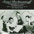 Sergey Rachmaninov: String Quartet No. 1 & No. 2; Trio Elegiaque, Op. 9