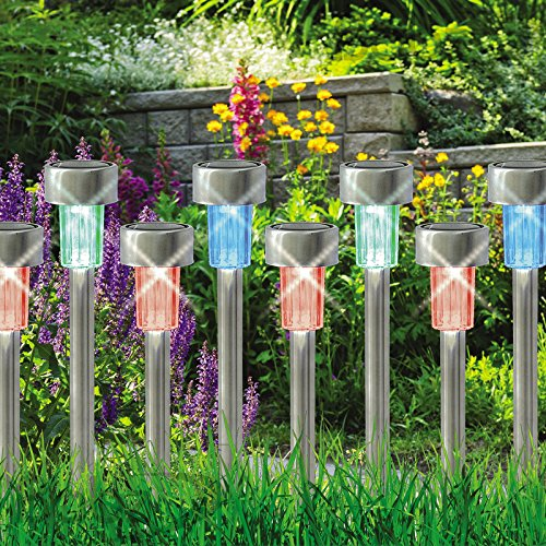 babz-10-x-colour-changing-stainless-steel-solar-led-garden-lights-rechargeable-lamps