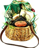 Gift Basket Village The Fish Whisperer Gift Basket with Fishing Creel