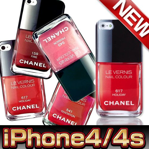 iPhone4/4sケース/CHANEL(シャネル)モチーフ543ピンク
