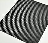 3M ダイノック リアル カーボンフィルム シール ステッカー CA-421 つや消し ブラック/黒(約A4サイズ 約20cm x 30cm)カーラッピング サイドミラー カーラップ カスタムに最適サイズ