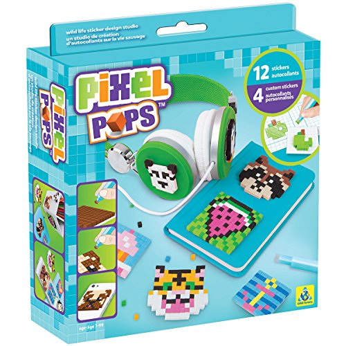 The Orb Factory Pixel Pops Wild Life Sticker Design Studio Kit