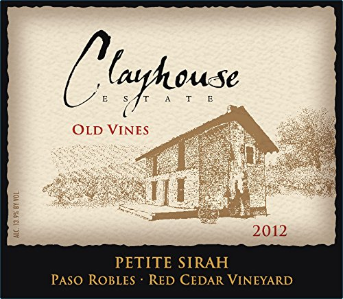 2012 Clayhouse Estate 'Old Vines' Petite Sirah 750 Ml