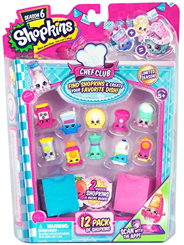 Shopkins Season 6 Chef Club, 12 Pack (Styles May Vary)