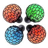 (トイホーム)Toy homeアンチストレス 面白い おもちゃ グレープボール ボールをしぼってブドウに変わる ストレスを軽減