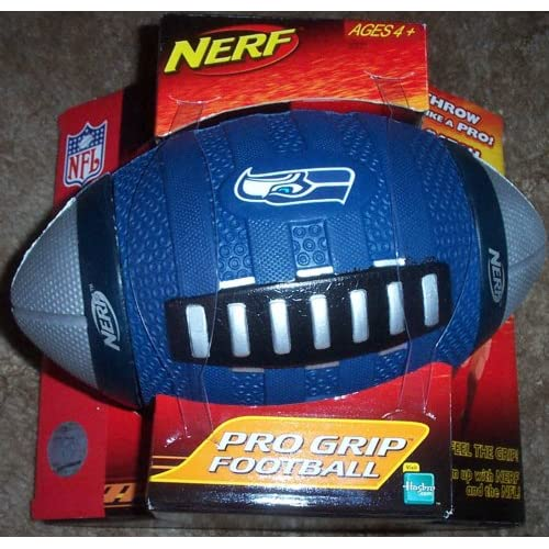 Nerf Seattle Seahawks Pro Grip Football