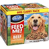 HiLife Feed Me! Beef & Fresh Vegetables With Cheese '6KG Value Box'
