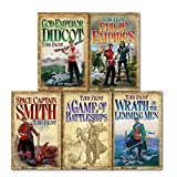 Toby Frost Toby Frost Space Captain Smith Series Collection 5 Books Gift Set, (God Emperor of Didcot A Game of Battleships Wrath of the Lemming Men End of Empires Space Captain Smith)