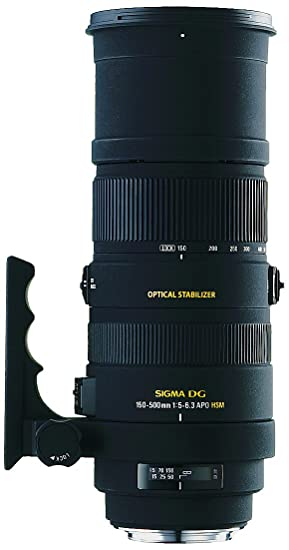 Sigma Objectif 150-500 mm F5-6,3 DG APO OS HSM - Monture Canon