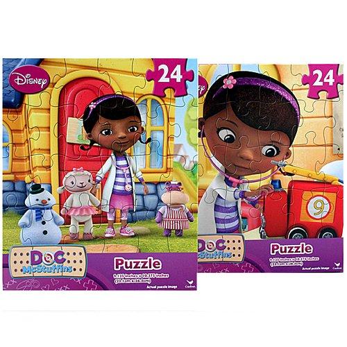 Disney Doc McStuffins 24-Piece Puzzle (Two Pack) - 1