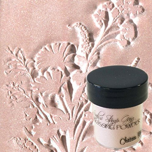 Lindy's Stamp Gang 2-Tone Embossing Powder, 0.5-Ounce, Canteau Rose