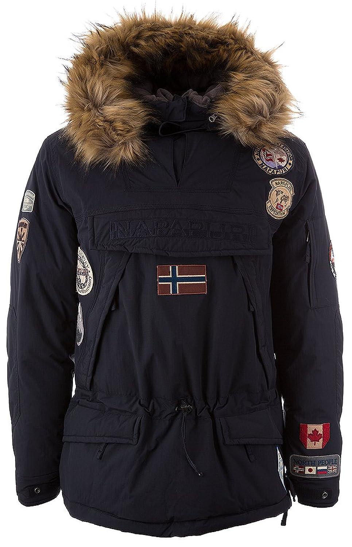 Napapijri Herren Schlupfjacke Skidoo Expedition Marine Blau jetzt kaufen