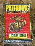 Lot Of 1 Bicycle Brand Patriotic Series Usmc Marine Playing Cards Rare Semper Fi!