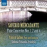 Mercadante: Flute Concertos Nos. 1, 2, 4 [Patrick Gallois] [Naxos: 8.572731]