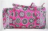 Vera Bradley Large Duffel Bag in Cupcake Pink