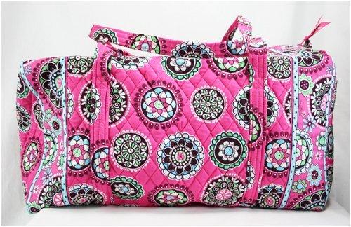 f29418c70c3b cheap bag review  Vera Bradley Large Duffel Bag in Cupcake Pink