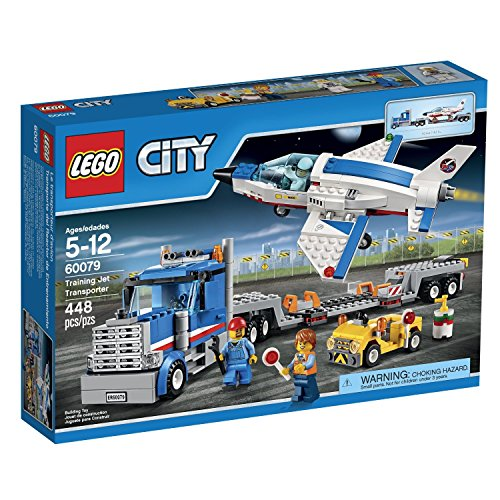 LEGO-City-Training-Jet-Transporter-60079