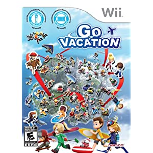 Go Vacation Video Game for Nintendo Wii