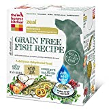 The Honest Kitchen Zeal: Natural Human Grade Dehydrated Dog Food, Grain Free White Fish, 4 lbs (Makes 16 lbs)