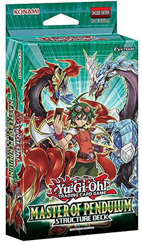 Yugioh Master Of Pendulum Structure Deck TCG English - 43 cards! (Yugioh Cards Master compare prices)