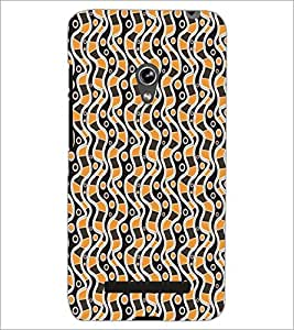 PrintDhaba Pattern D-5118 Back Case Cover for ASUS ZENFONE 5 A501CG (Multi-Coloured)