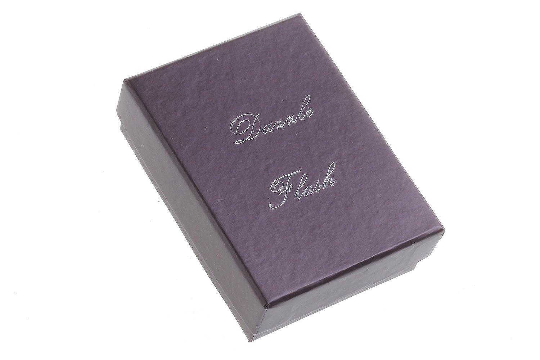 Dazzle Flash 18k rose gold plated black flower necklace, earring, ring jewelry set -JGG012: Drop Earrings