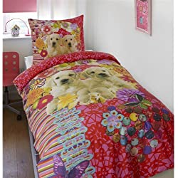 Bed Linen Set Duvet Cover and 1 Pillowcase Pillow Dog Mila-Bella