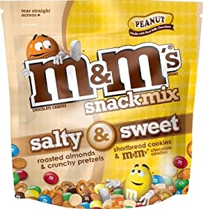 M&M's Snack Mix Candy, Peanut, 30 Ounce