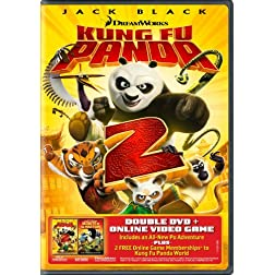 Kung Fu Panda 2 / Secrets of the Masters (Two-Disc Double DVD Pack)
