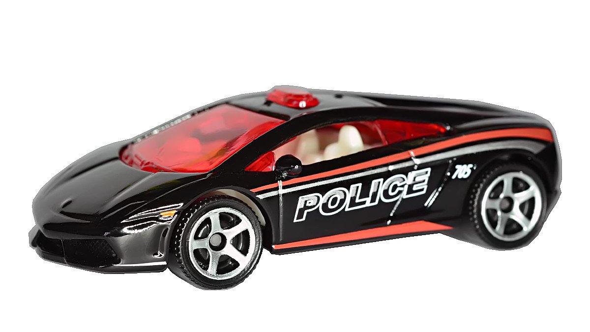 Lamborghini Gallardo LP 560-4 Police (Black) Diecast Car (Matchbox)(2012) by MATTEL günstig online kaufen
