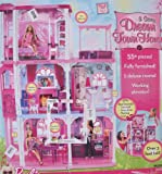 BARBIE 3 STORY DREAM TOWN HOUSE Playset Townhouse w 55+ PIECES, LIGHTS & SOUNDS, Furniture & More (2009)