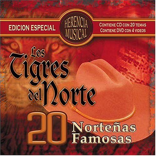 Los Tigres Del Norte - Herencia Musical: 20 Norteas Famosas - Zortam Music