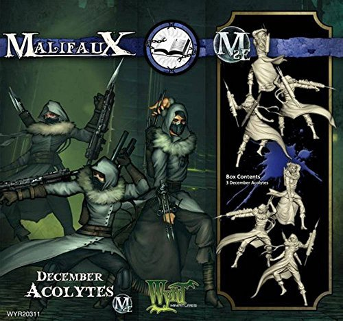 Wyrd Miniatures Malifaux Arcanists December Acolyte Model Kit (3 Pack) [parallel import goods]